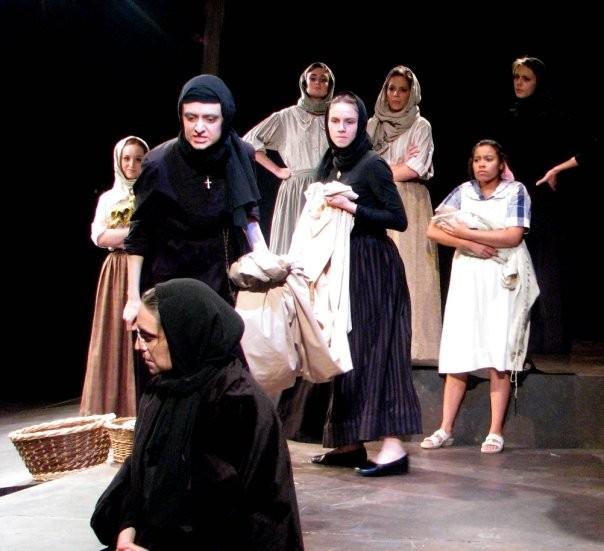 (c) WIDOWS Theatre Erindale, University of Toronto. Ensemble