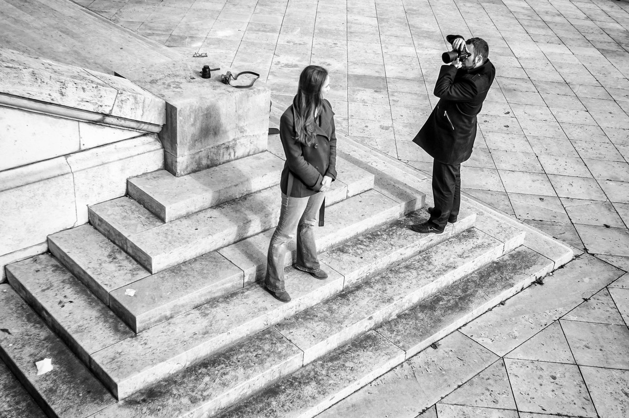 Shooting with Luca Sartoni, picture taken by Letizia Barbi . March 2013