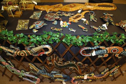 サイケデリックな輸入爬虫類グッズもいろいろ。