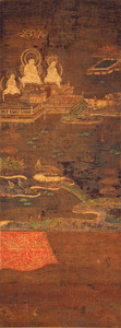 奈良国立博物館蔵 二河白道図
