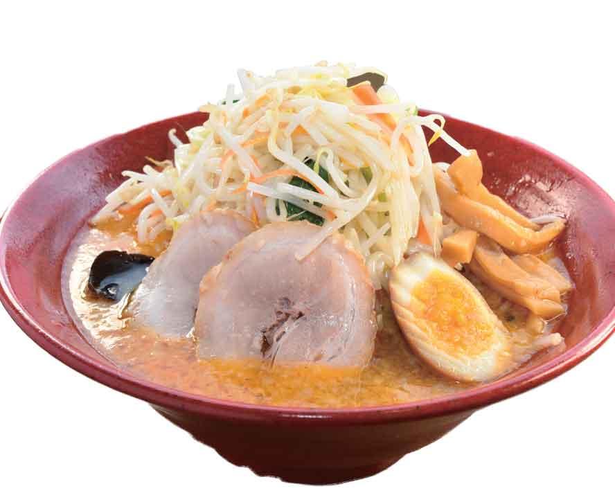 野菜がたっぷりの味噌タンメン