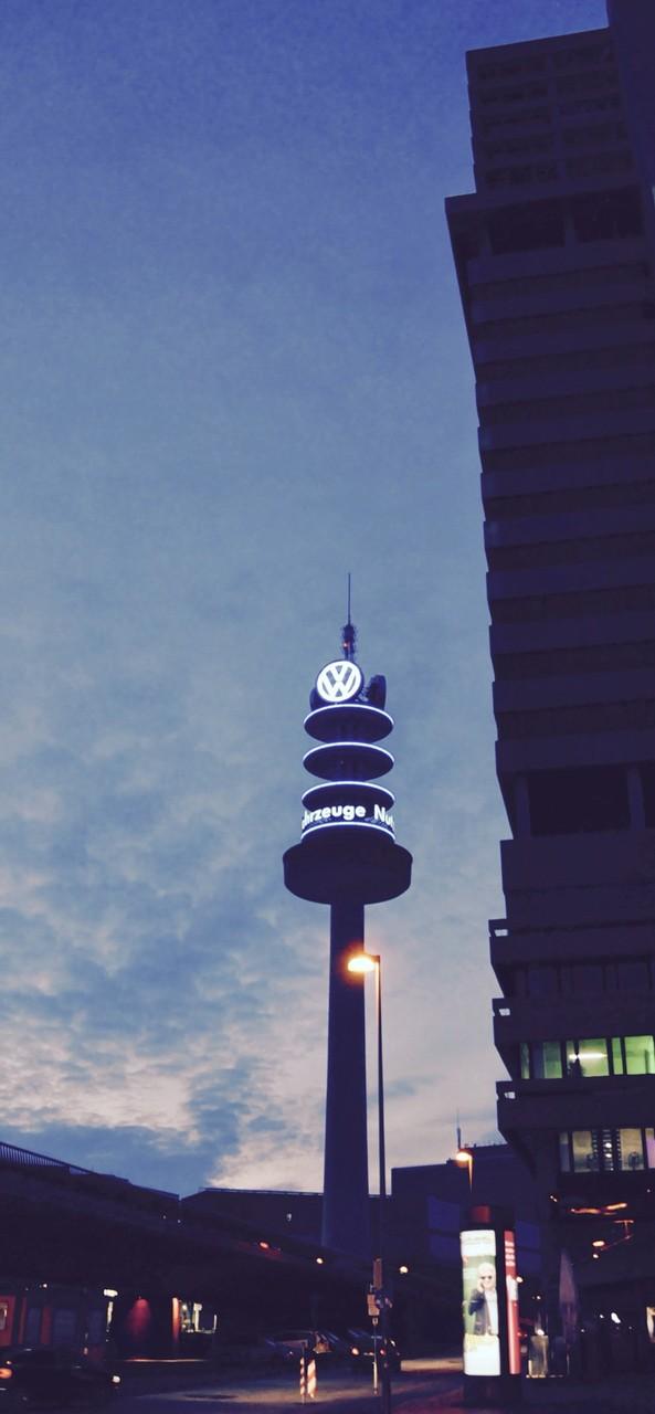 Alter Fernsehturm und Bredero Hochhaus