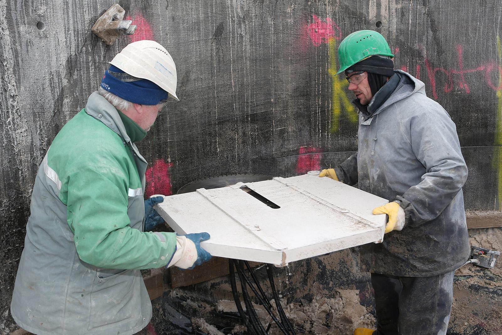 Rückbau Kühlturm · CPM Marl