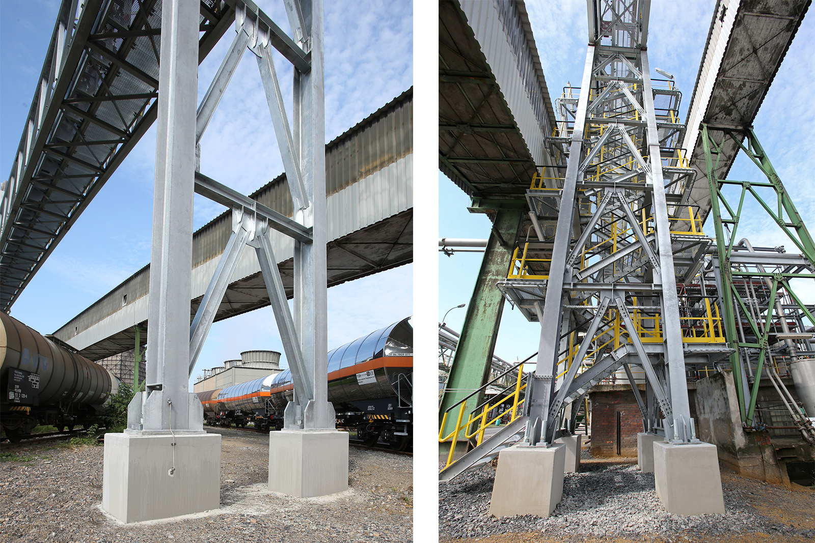Sanierung Kohlebandbrücke · CPM Marl