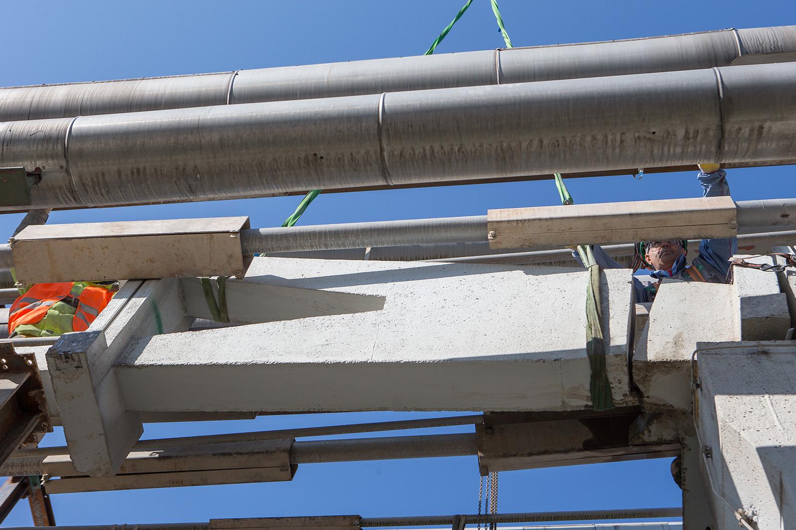 Teilrückbau Rohrbrücken · CPM Marl