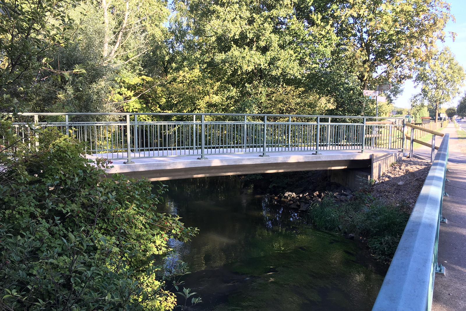 Neubau Brücke · Paderborn