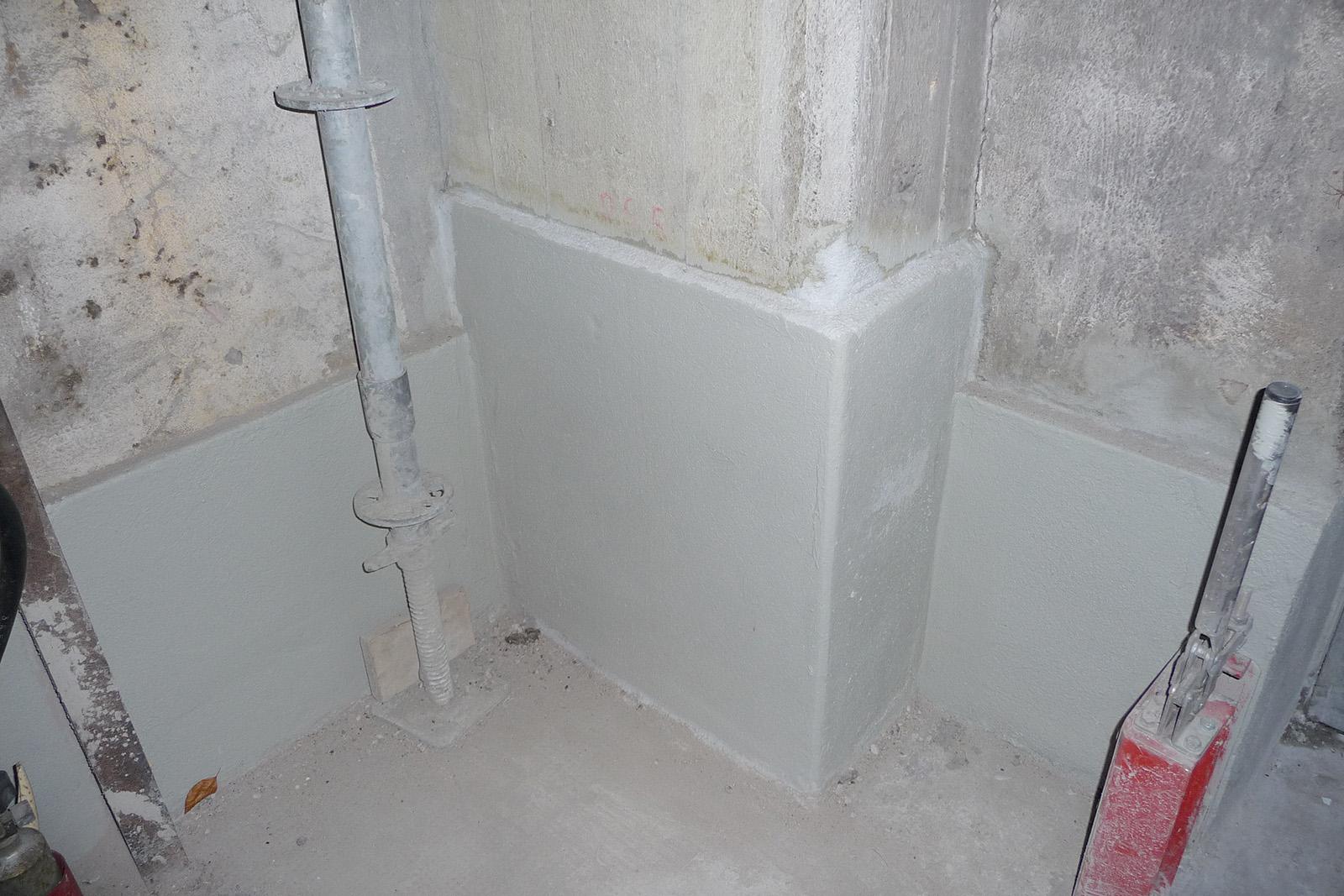 Instandsetzung Sockelbereich · Rütgers Castrop-Rauxel