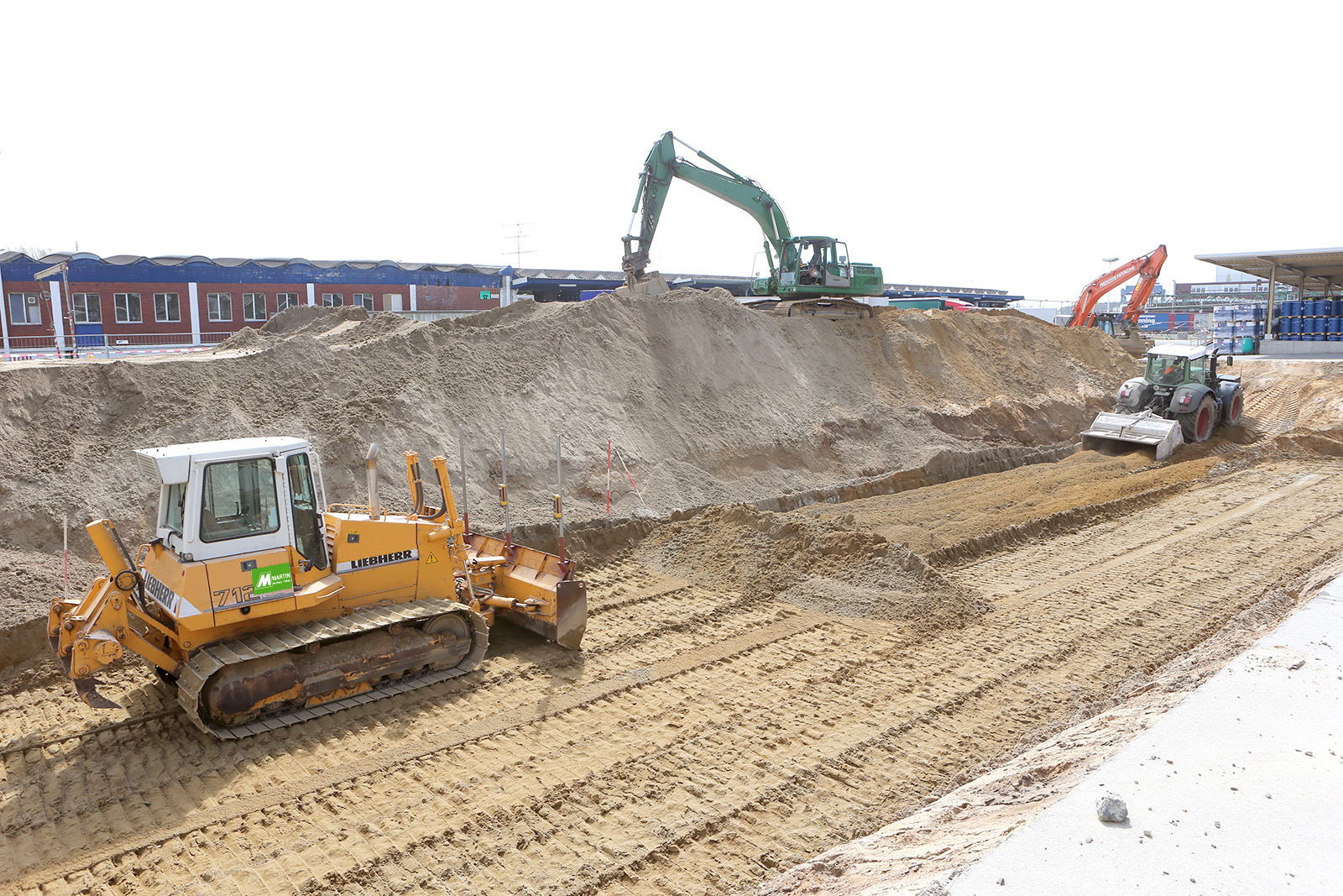Baugrundverbesserung für Gefahrstofflager · CPM Marl
