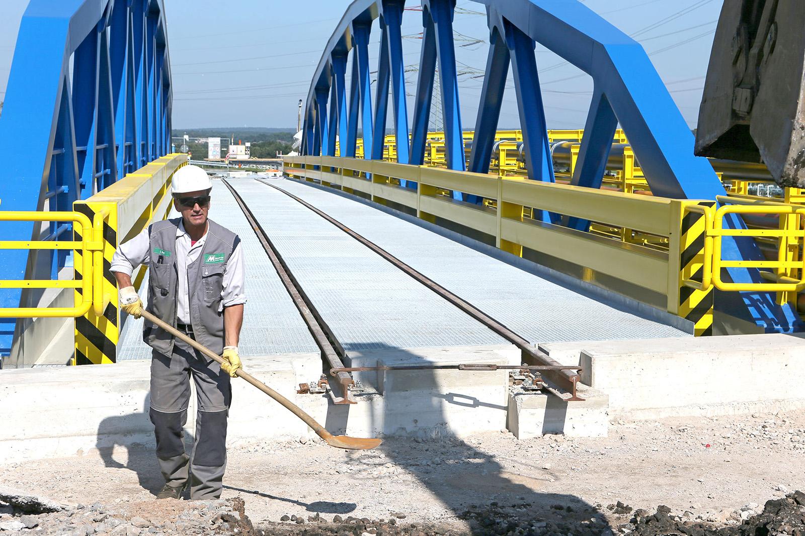 Abbruch und Widerlagersanierung Brücke Wesel-Datteln-Kanal