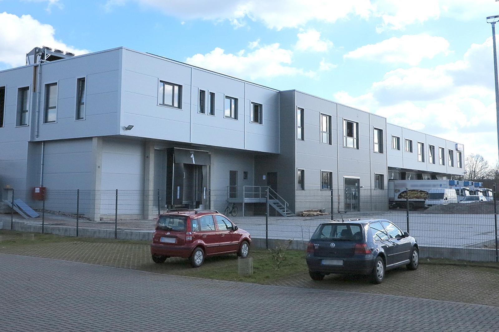 Tiefkühlhaus · Marl