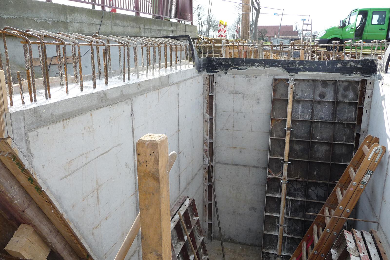 Neubau Brücke · Brünen B70