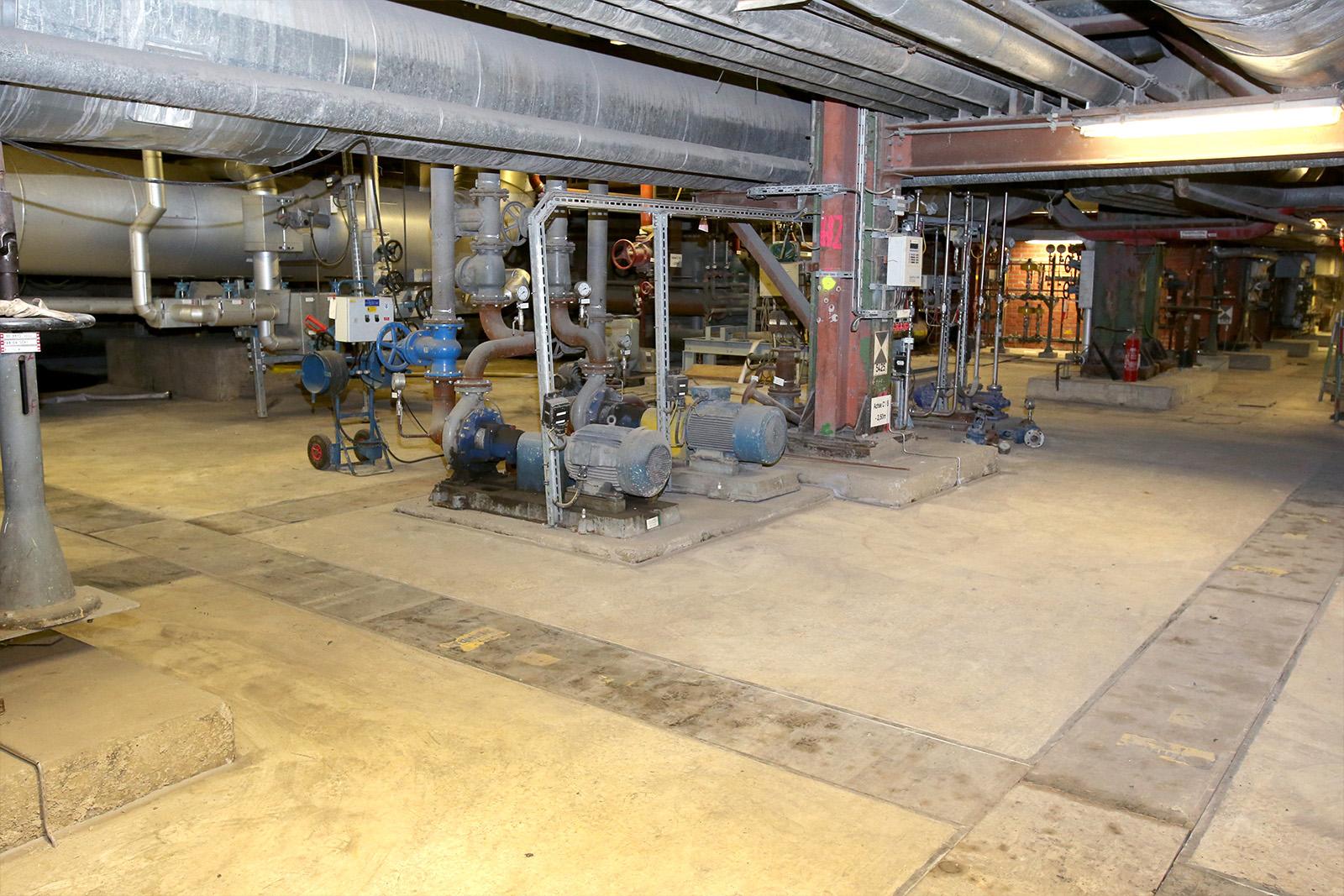 Sanierung Bodenplatte Kraftwerksanlage · CMP Marl