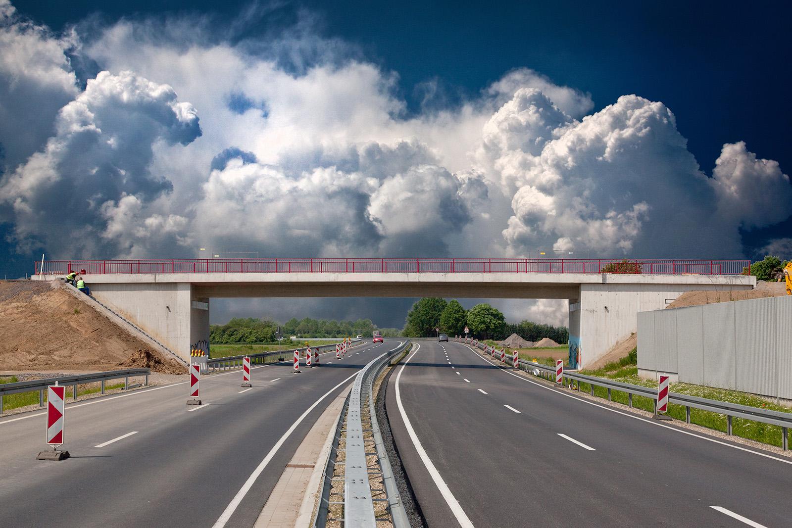 Neubau Brücke in Wesel