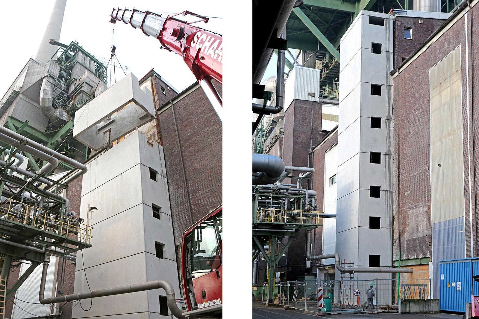 Treppenturm am Kraftwerk · CPM Marl