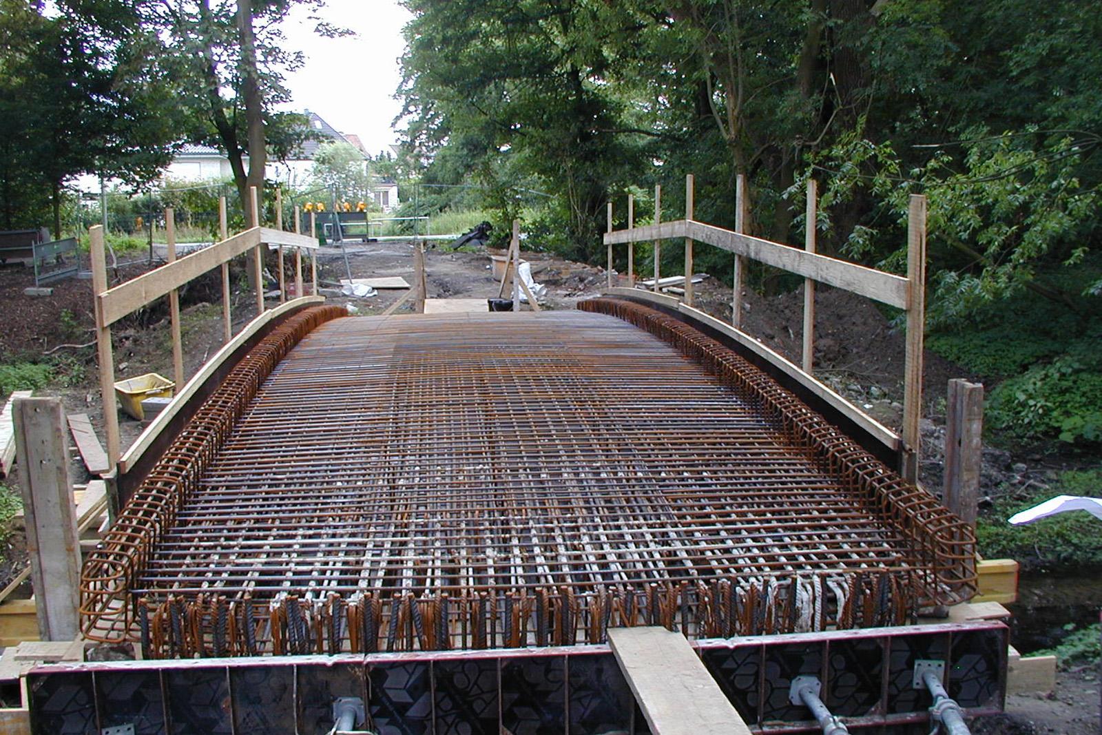 Neubau Fußgängerbrücke · Dorsten