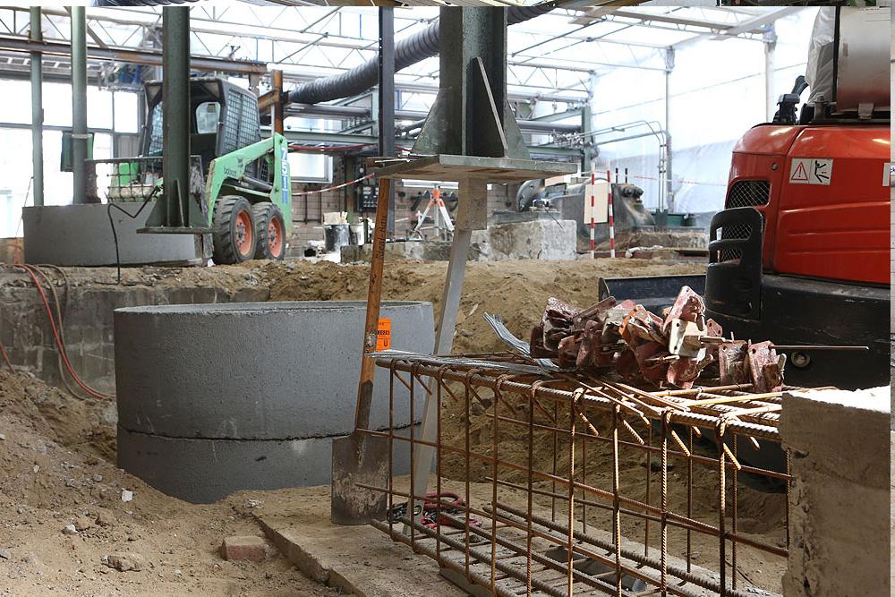 Sanierung Bodenplatte im laufenden Betrieb · Sasol · CMP Marl