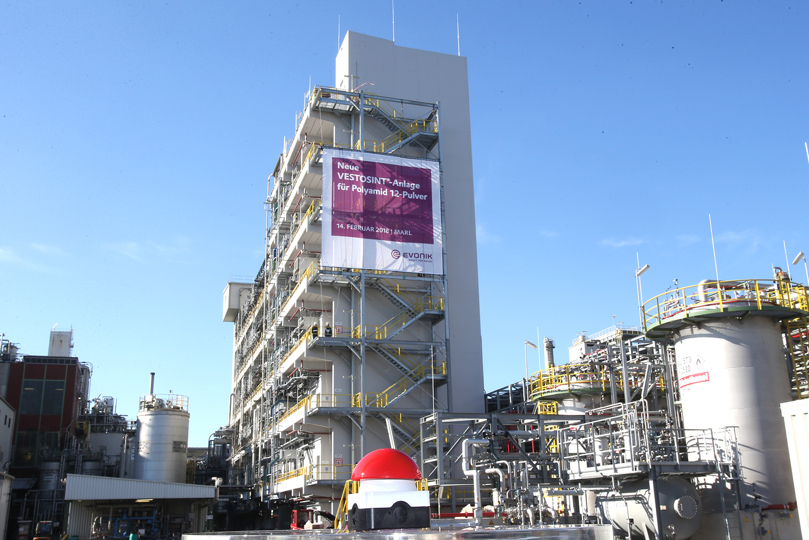 Produktionsanlage · CPM Marl
