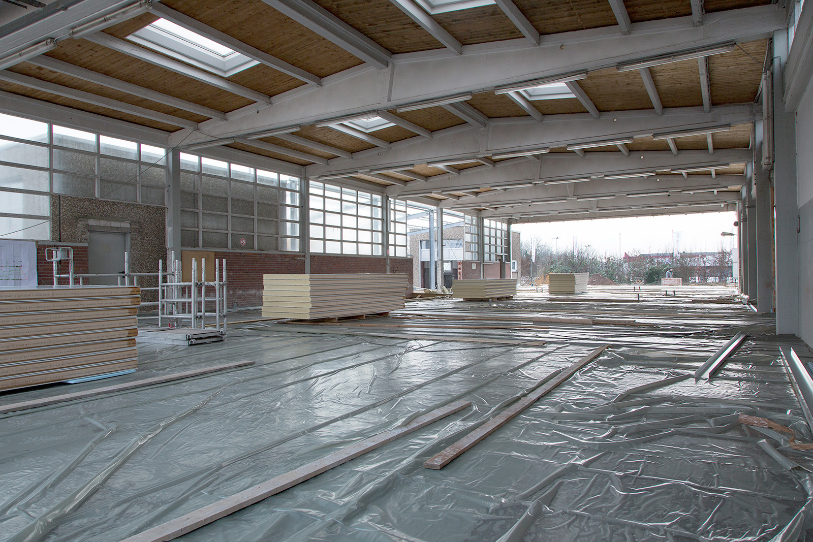 Neubau Fleischfabrik · Marl