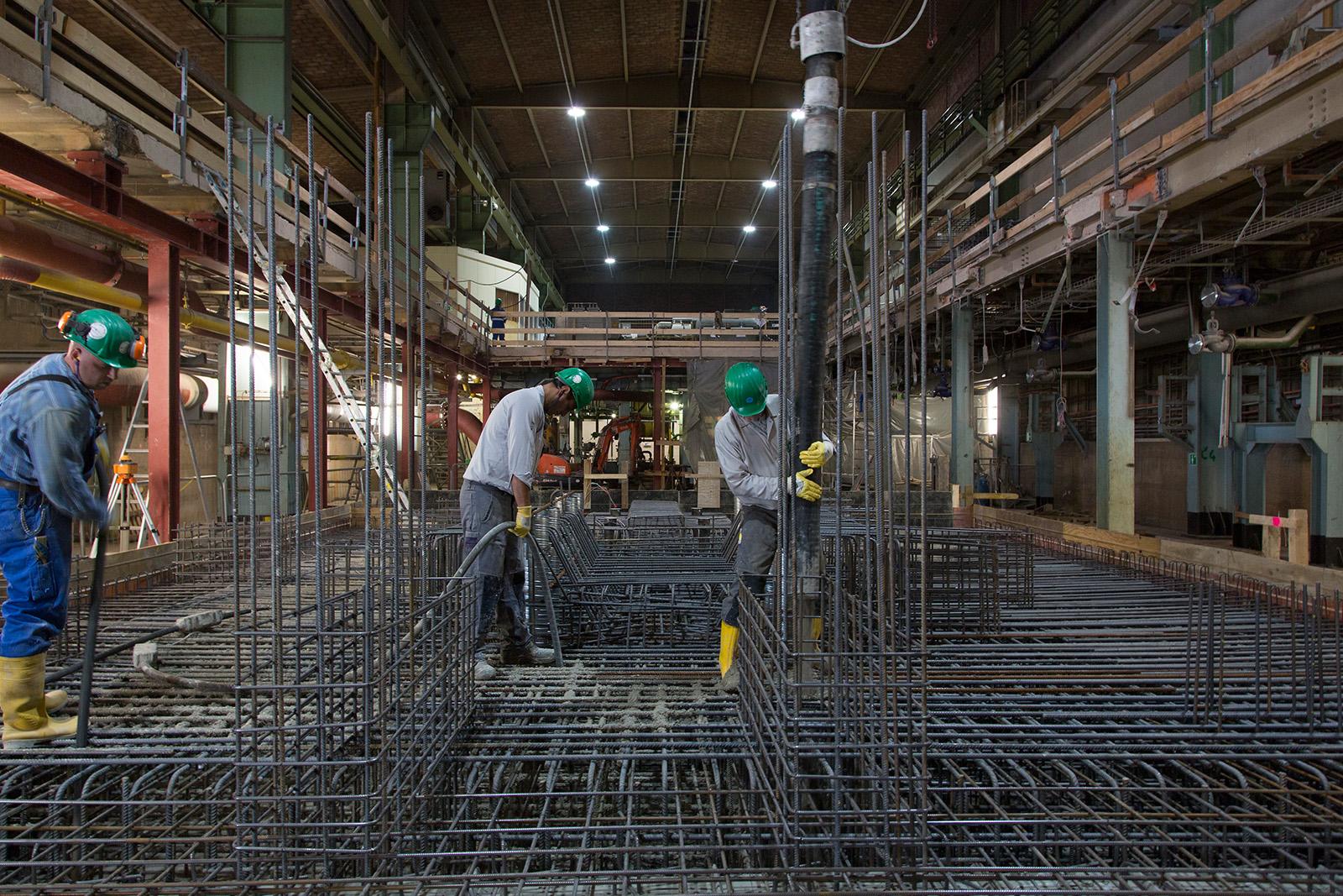 Neubau Kompressorfundament Luftzerleger · Dortmund