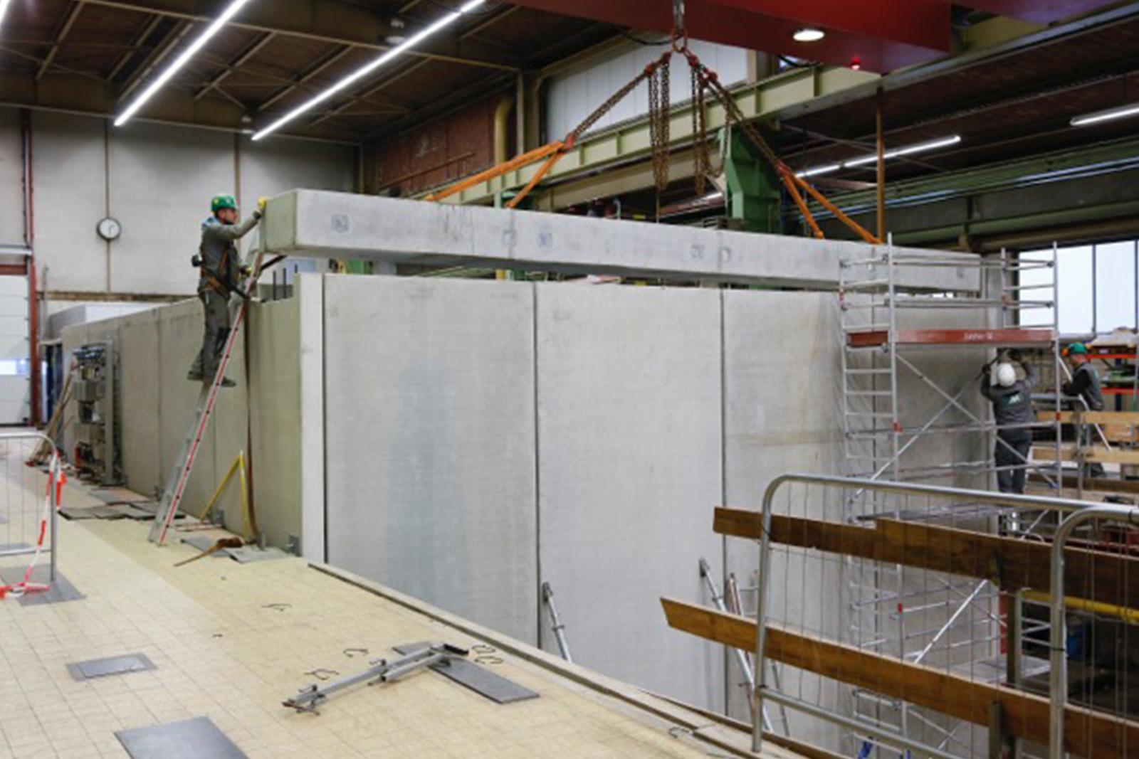 Einhausung Kompressoranlage Luftzerleger · Dortmund