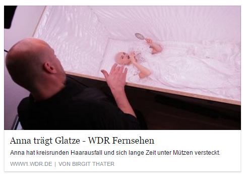 WDR v. 29.10.2015 - Anna trägt Glatze