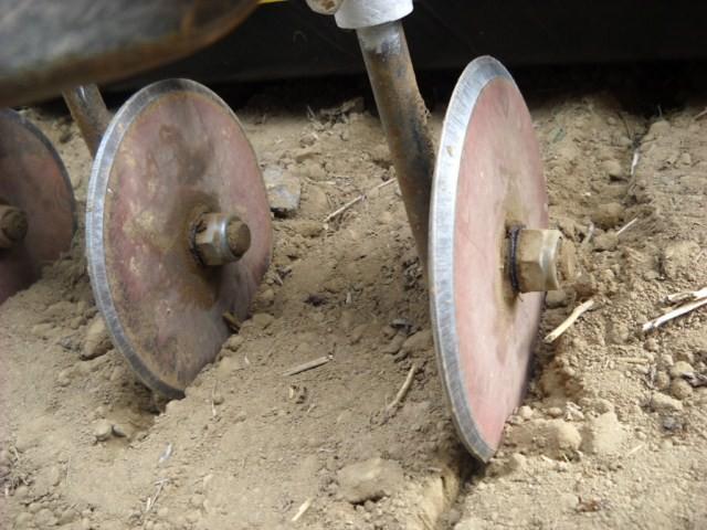 Traçage + ou - fort en fonction des graines