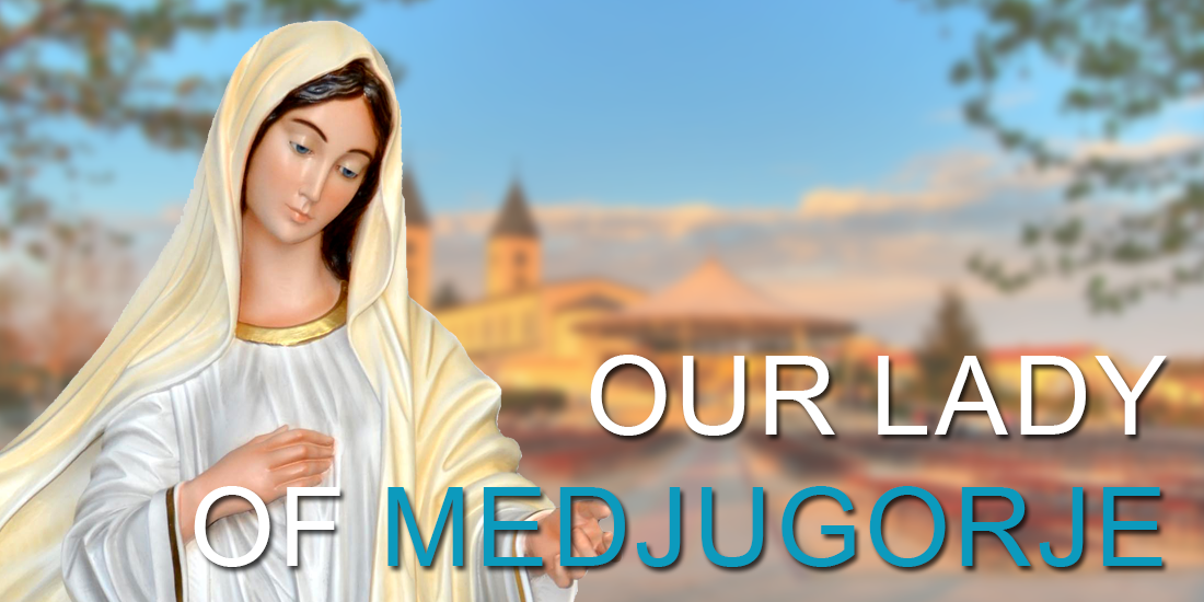 Our Lady of Medjugorje religious statues