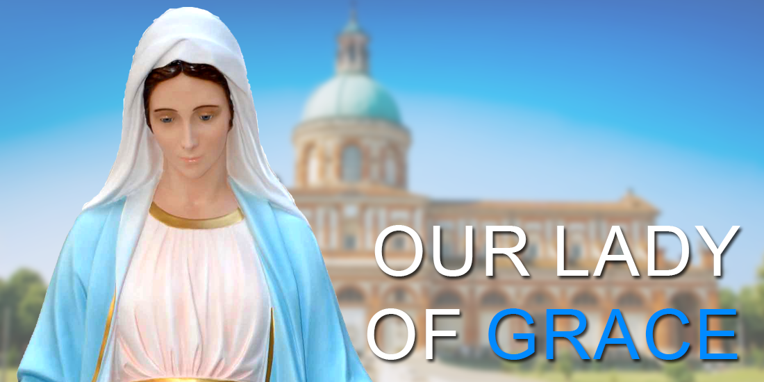 Our Lady of Grace religious statues