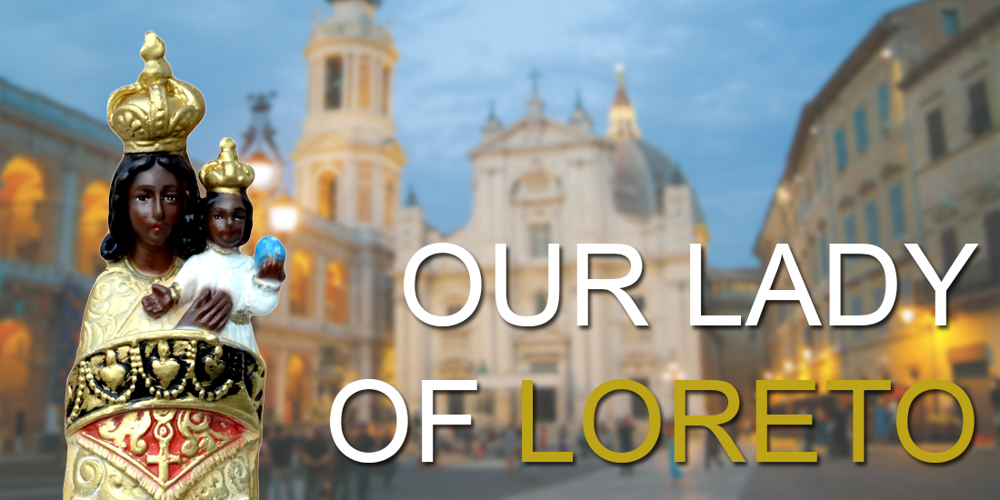 Our Lady of Loreto religious statues