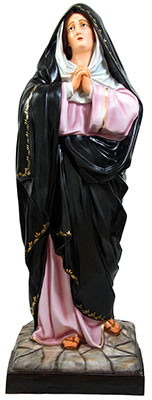 Our Lady of Sorrows statue cm 150
