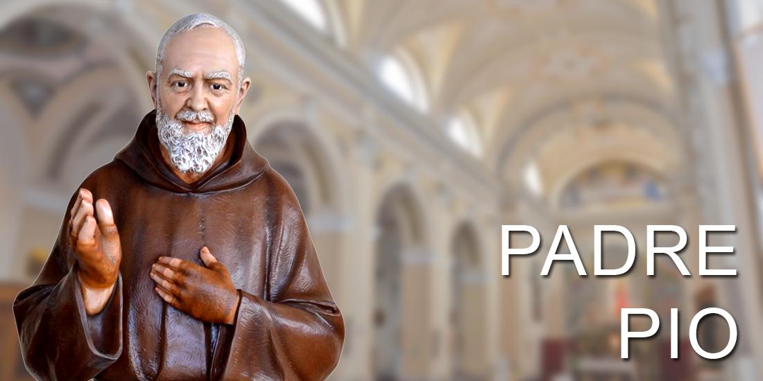 Padre Pio religious statues