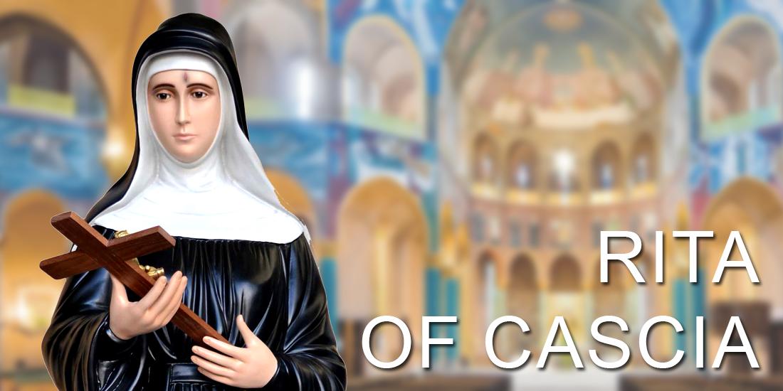 Saint Rita of Cascia religious statues