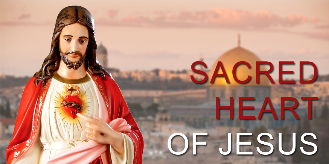 Sacred Heart of Jesus religious statues