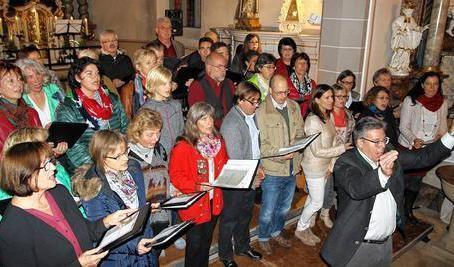 Projektchor - Leitung: Dr. Harald Straßburger - Gruppenchorkonzert 2015