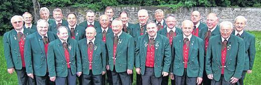 Männerchor 2012