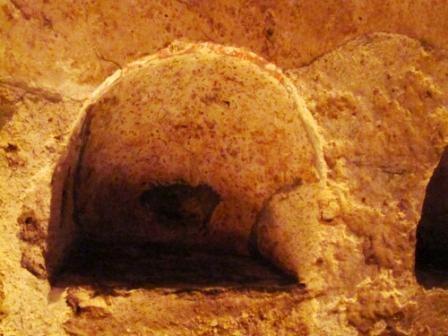 Cripta del Redentore, Sito Archeologico.