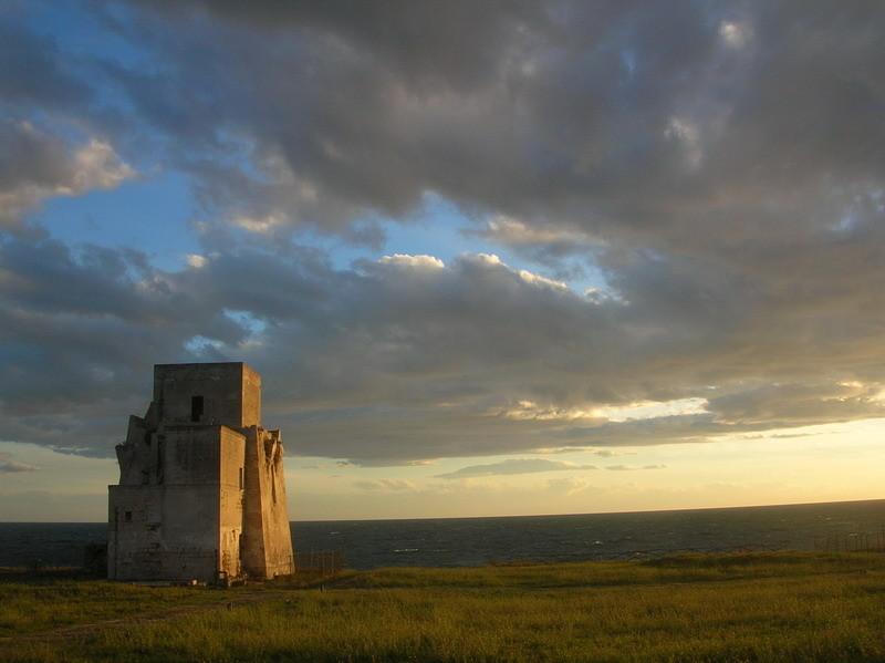 Torre Saturo nel Parco Archeologico di Saturo