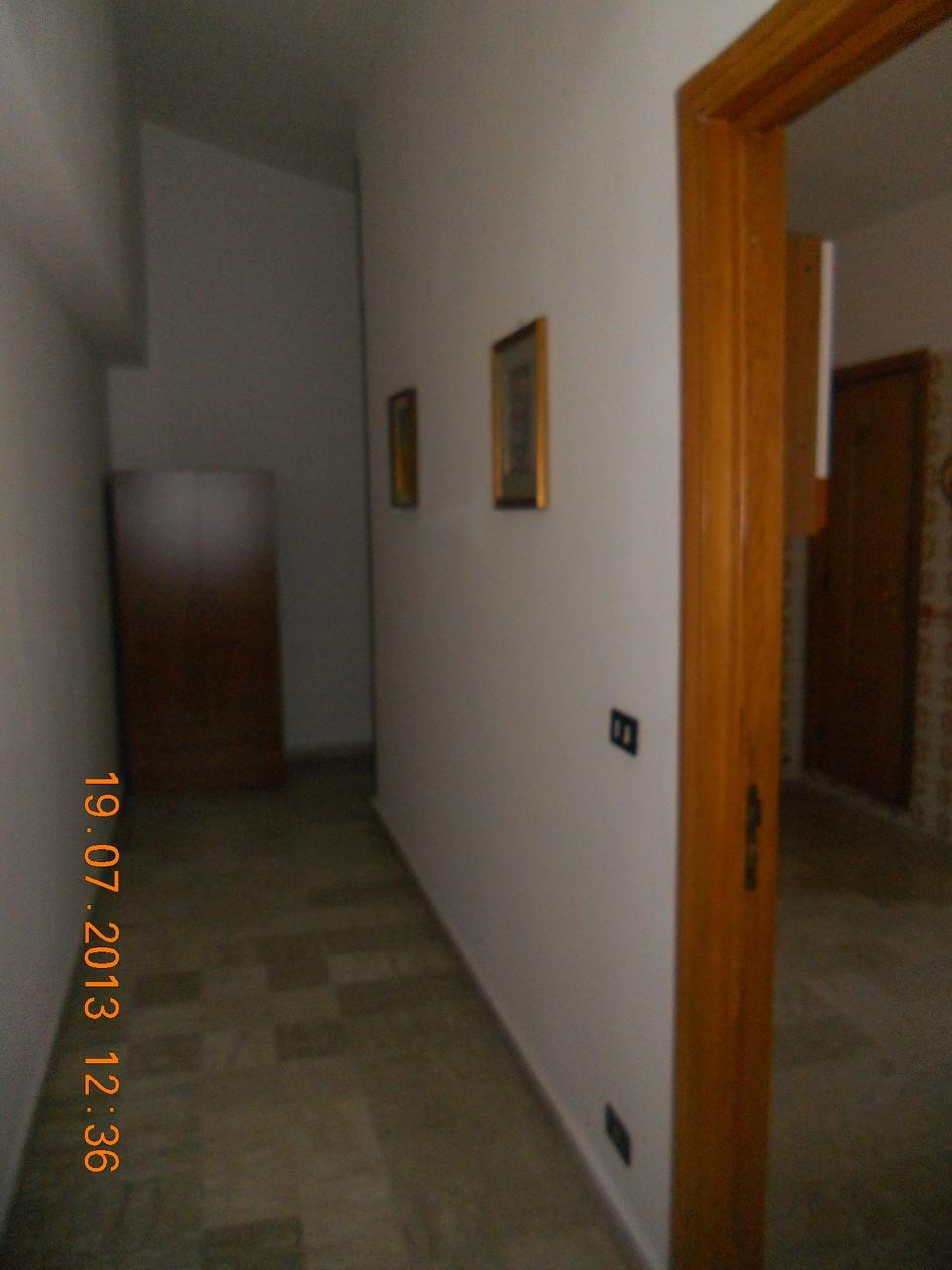 Parte iniziale del corridoio.