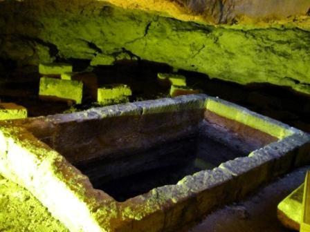 Cripta del Redentore, Sito Archeologico