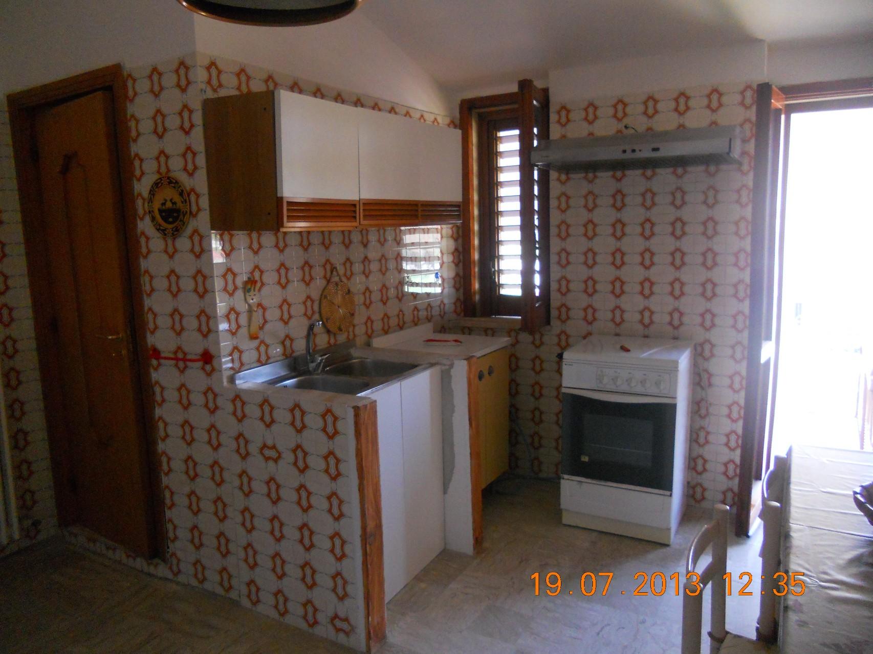 Parte centrale della cucina