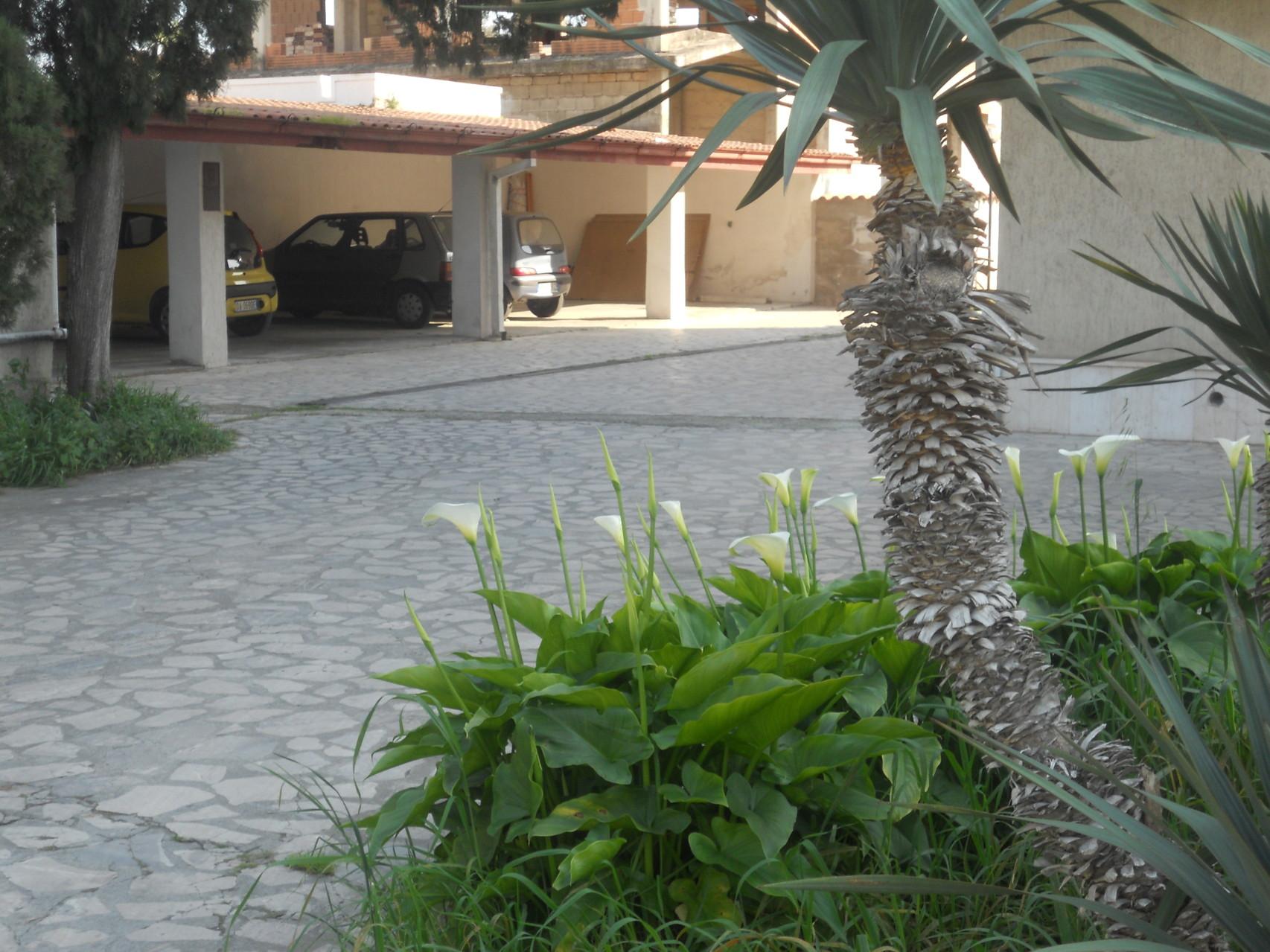 Vista del garage.