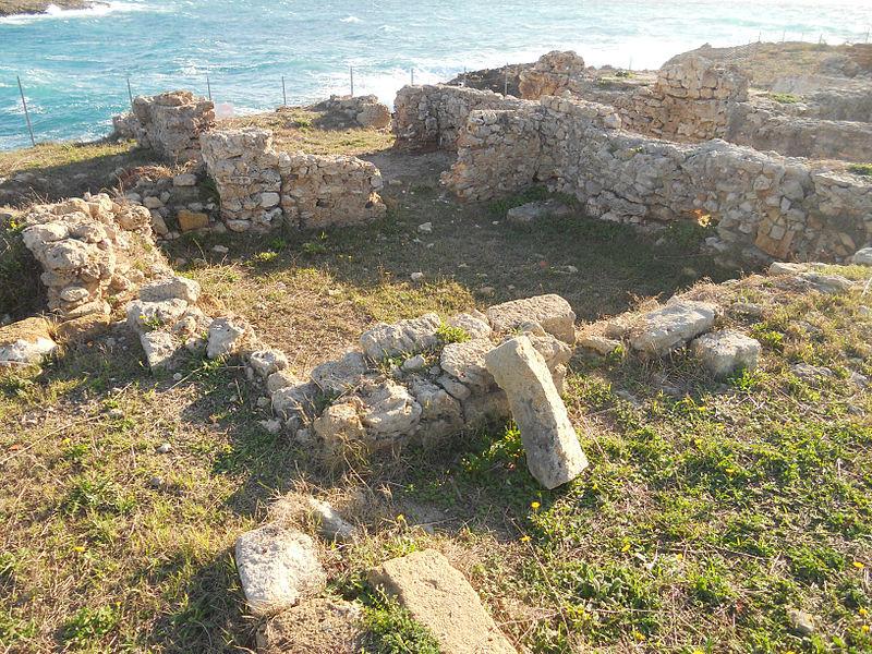 Romeinse villa in het archeologische park van Saturo