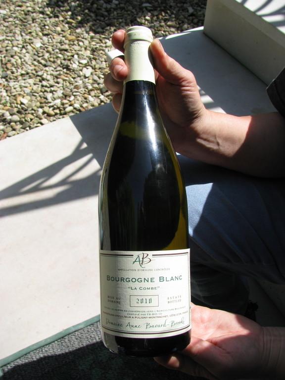 Notre première bouteille !