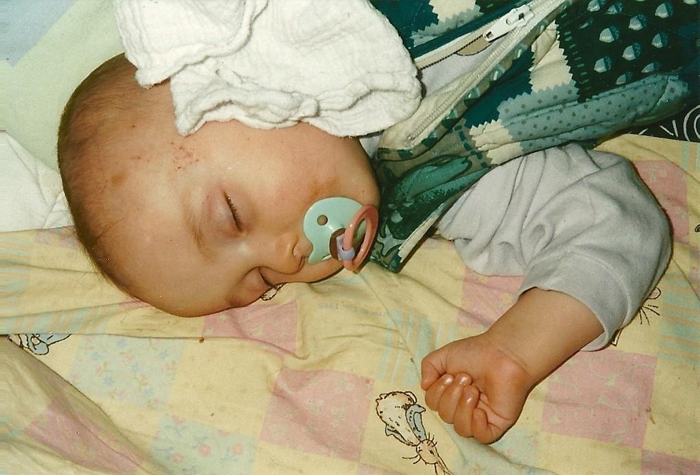 Unser zweiter Sohn Joschua ist da 18.10.1995