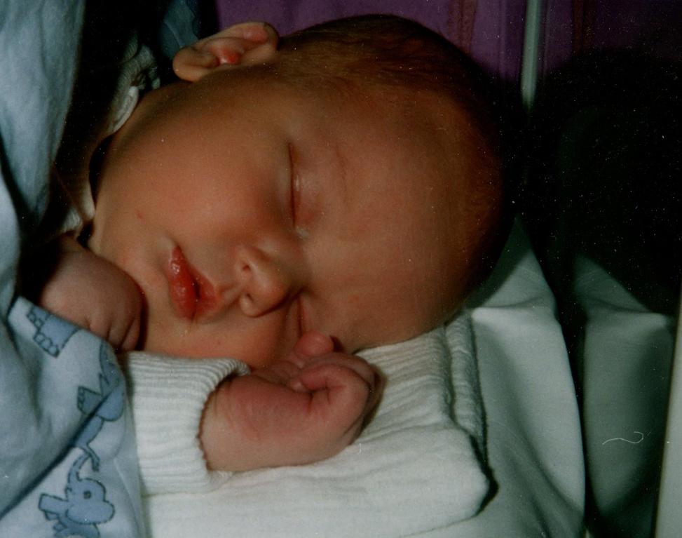 Geburt unseres ersten Sohns Jan 14.01.1994