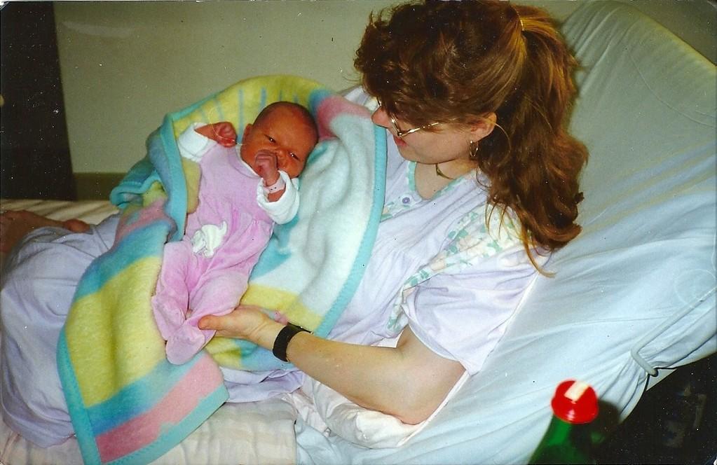 Geburt unserer Tochter Lena 21.11.1992