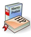 Icône livre Harry Potter