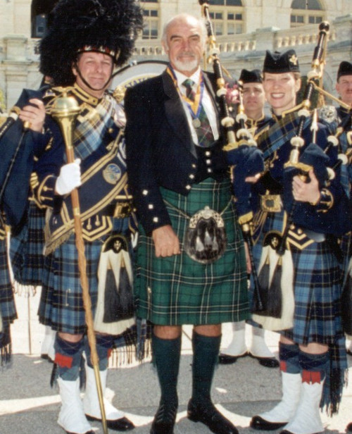 Sean Connery en Kilt traditionnel