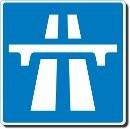 Symbole autoroute