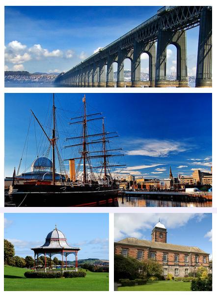 Paysages et monuments de Dundee